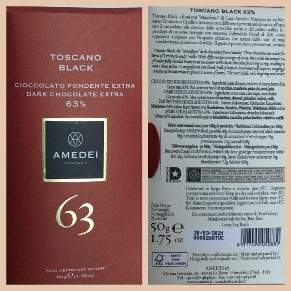 cioccolato fondente 63 amedei