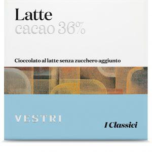 cioccolato Vestri latte diabetici