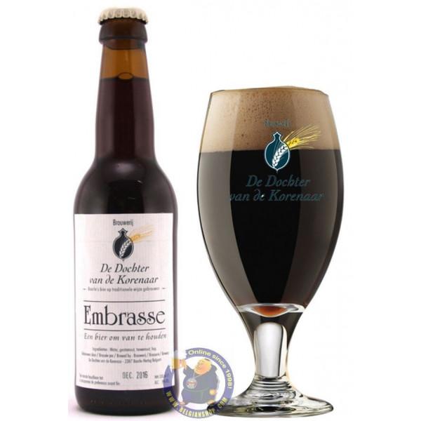 birra scura bicchiere